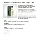 Hepburn´s Choice Benrinnes Speyside Single Malt Scotch Whisky 7 Jahre 46% 0,2l