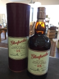 Glenfarclas Speyside Single Malt Scotch Whisky 15 Jahre 46% 0,7l + 2 Gläser