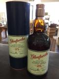 Glenfarclas Speyside Single Malt Scotch Whisky 25 Jahre 43% 0,7l